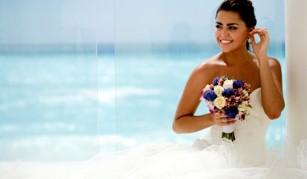 Bride at Palace Resorts- Mexico