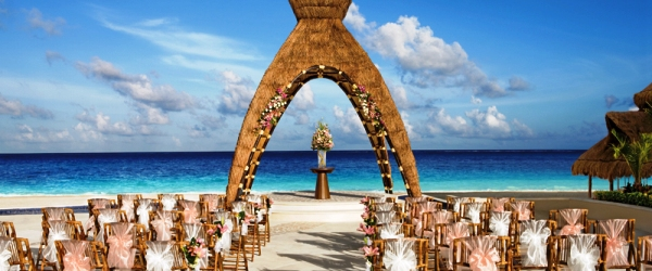 Wedding Gazebo- Dreams Riviera Cancun-Mexico