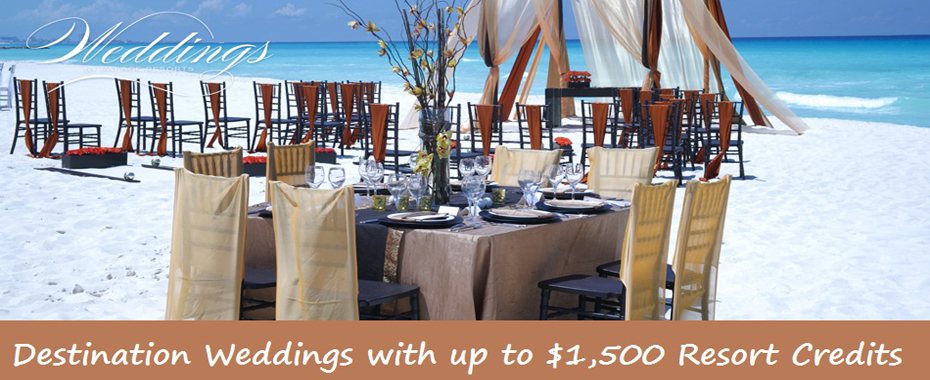 Palace Resorts-Weddings & Resort Credit Promo