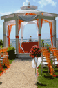 Destination Beach Wedding Tent Altar