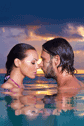 Honeymoon Couple Romantic Endless Pool